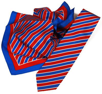 D.I.W. Krawatte und Damentuch
