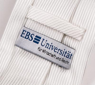 EBS Universität Krawatte Detail
