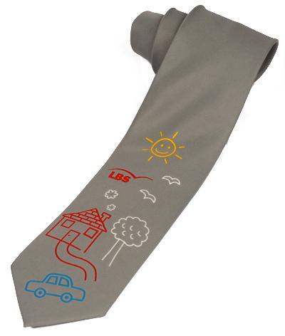 LBS Münster Weltspartag Krawatte