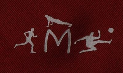 Mittwochssportler Krawatte Detail