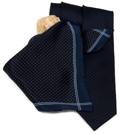 Trumpf Krawatte und Damentuch