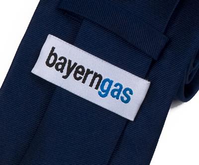 bayerngas Krawatte Detail