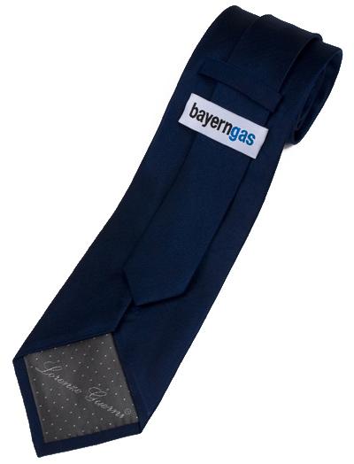 bayerngas Krawatte mit Label